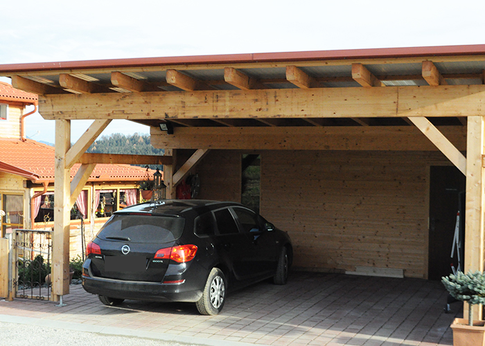 holz carport nach ma projektfotos von kunden. Black Bedroom Furniture Sets. Home Design Ideas
